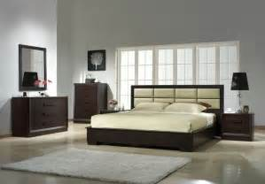 leather designer bedroom furniture sets modern