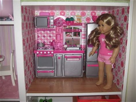 american doll house kitchen with our generation