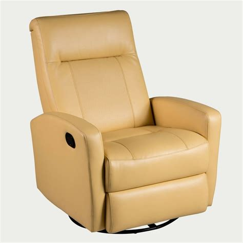 yellow recliner chair stefan swivel glider recliner in diego yellow color ebay