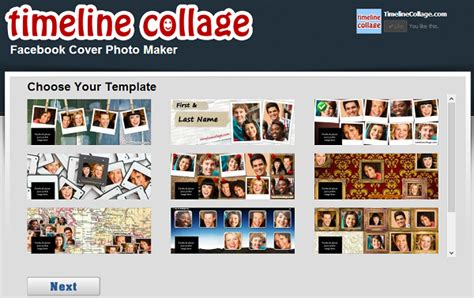 timeline collage template 7 best free cover collage makers