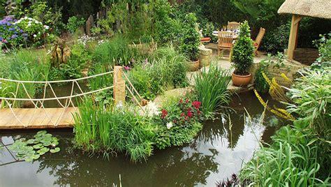 tranquility water garden exhibit hton court flower