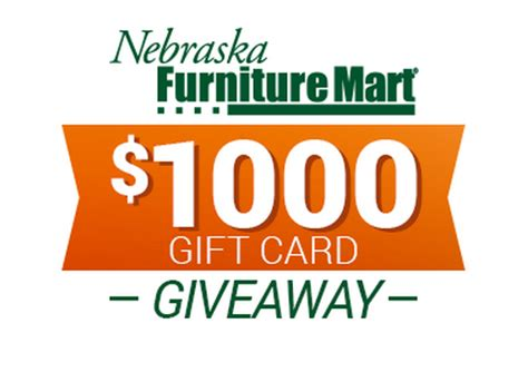 Furniture Mart Coupons by Nebraska Furniture Mart Win A 1 000 Gift Card Plus Early Shopping Event For Coupon
