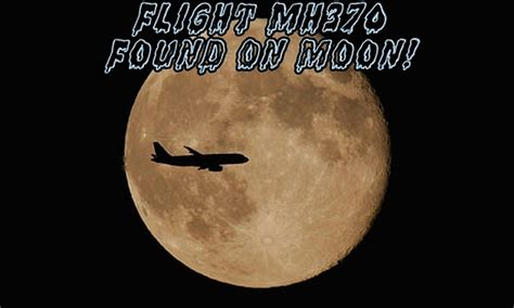 mh370 found on moon mh370 found on moon images