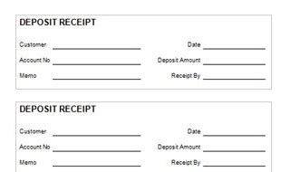 deposit receipt template uk deposit receipt template uk receipt template