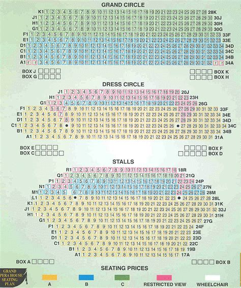 Grand Opera House Belfast Seating Plan Grand Opera House Seating Plan D Opera House And Opera