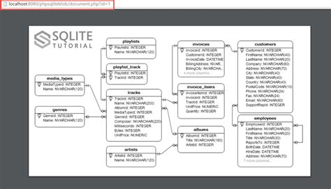 tutorial php sqlite how to retrieve blob data from mysql database