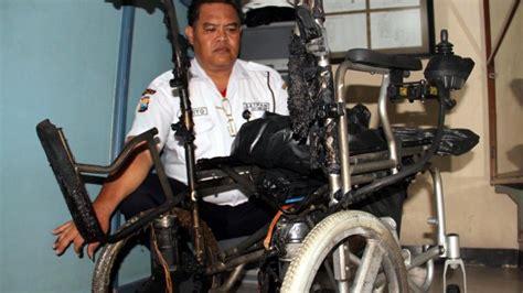 kebakaran di rs gresik berawal dari kursi roda