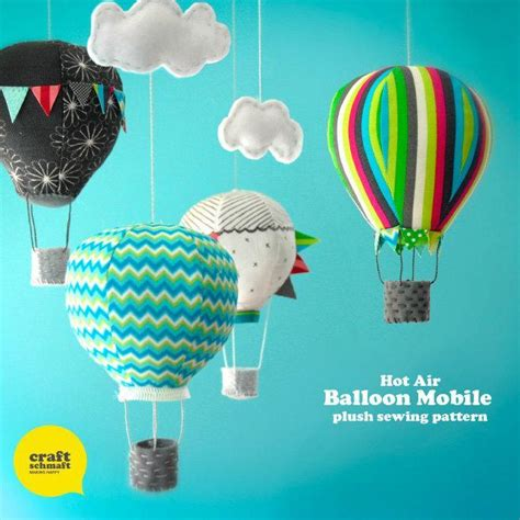 How To Make An Air Balloon Out Of Paper - 15 adorable air balloon themed crafts