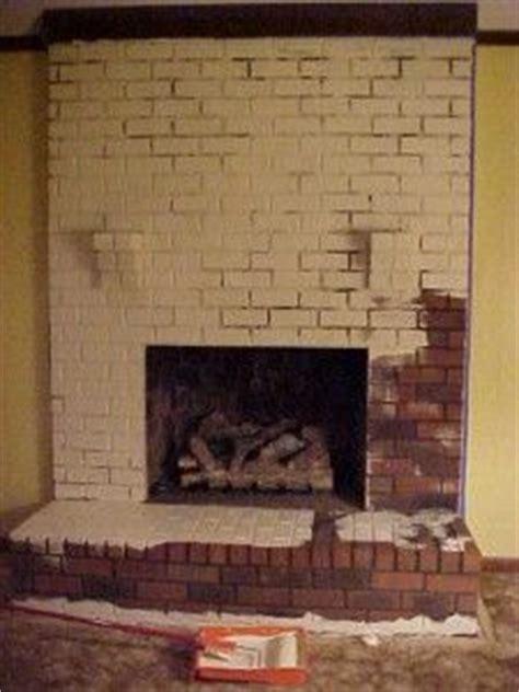 Refurbish Brick Fireplace by How To Whitewash Brick Brown Hairs