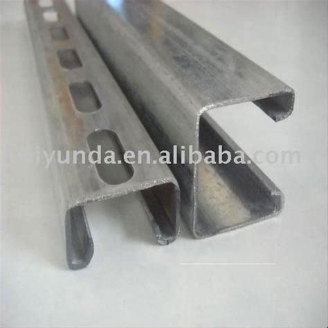 Rolled Steel Channel Sections by Rolled Forming Section Steel Metal Structural Materials