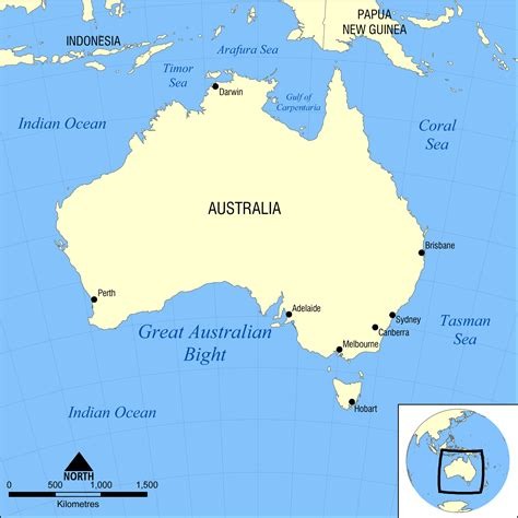 map of australia with oceans file great australian bight map png
