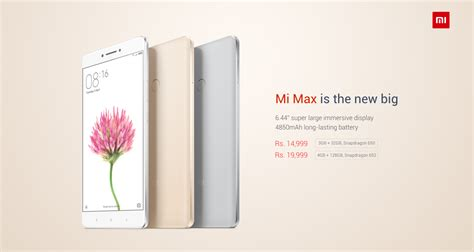 mi max officially launches in india for 14 999 xiaomi