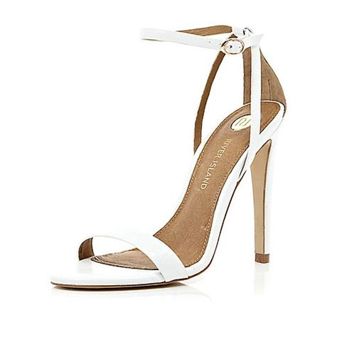 barely there sandals uk white barely there stiletto sandals shoes boots sale