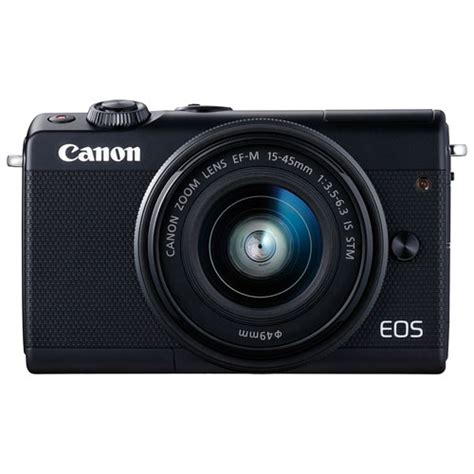 Canon Eos M100 Mirrorless Kit 15 45mm Is Stm canon eos m100 mirrorless with 15 45mm is stm lens