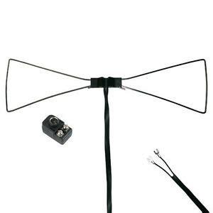 steren uhf bow tie tv antenna indoor outline hdtv only enhances inside reception