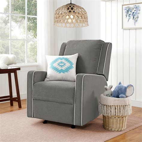 gray recliner slipcover gray rocker recliner slipcover chairs seating