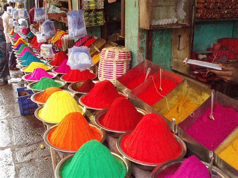 Ruta De Las Especias Por La India Como Obtener Colorantes Naturales L