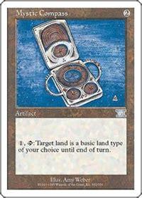 compass clear card login mystic compass artifact cards mtg salvation