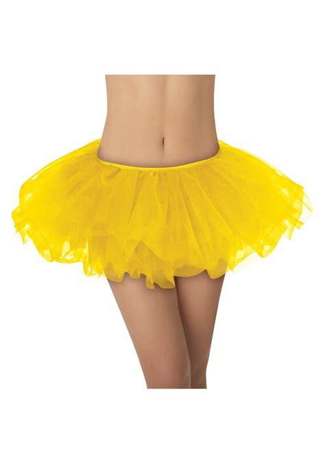 for yellow yellow tutu