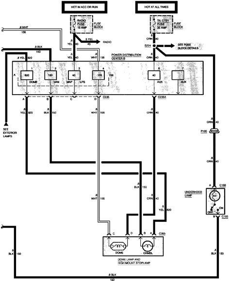 2000 cadillac escalade ke light wiring diagram 2002