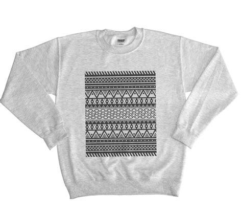 aztec pattern jumper aztec pattern sweater