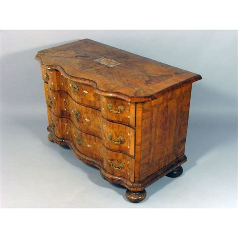 commode antique early 18th century antique german rococo burr walnut commode