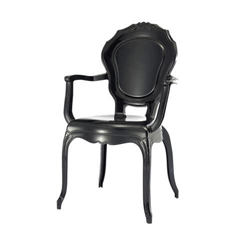 stuhl mit armlehne barock schwarz aus kunststoff - Stuhl Mit Armlehne Schwarz