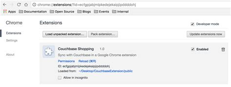 The Place Chrome Extension Building A Chrome Extension With Couchbase And Angular 2 The Couchbase