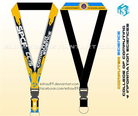 lanyard design template bscs lanyard by eijhay89 on deviantart