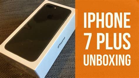 iphone 7 plus unboxing 256gb black