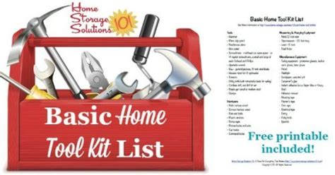 basic home tool kit list make sure you the essentials