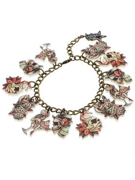 tattoo bracelet online punky pins vegas tattoo charm bracelet buy online at