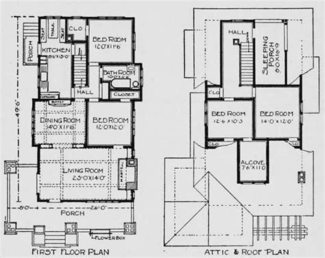 historic homes floor plans craftsman bungalow historic houses craftsman bungalow
