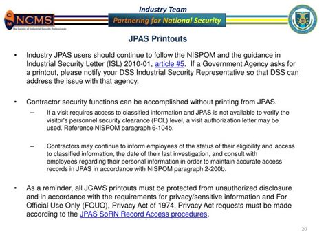 Jpas Verification Letter Ppt Jpas Updates Powerpoint Presentation Id 2595358
