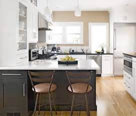 Two Colour Kitchen Cabinets by 10 Kitchen Trends Here To Stay Centsational