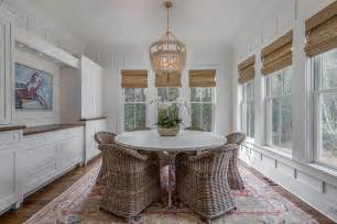dining room built ins cottage dining room morrison round white cottage dining table with white beaded