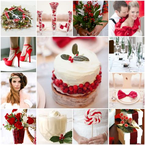 cranberries and holly a christmas wedding the blushing