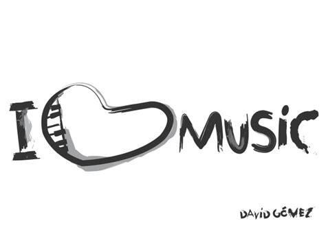 imagenes de i love hockey dibujo i love music