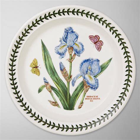 Botanic Garden Plates Buy Portmeirion Botanic Garden Plate Iris Dia 20cm Lewis