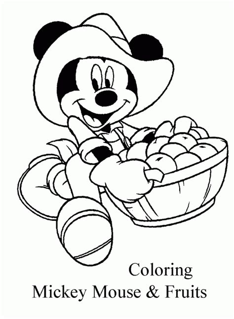 Mickey Mouse Clubhouse Coloring Book Coloring Home Coloring Mickey Mouse House