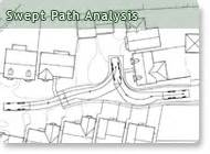 Vehicle Swept Path Templates by Swept Path Analysis