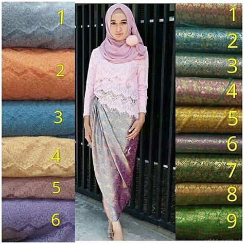 jual rok kain lilit songket 02 grosir batik