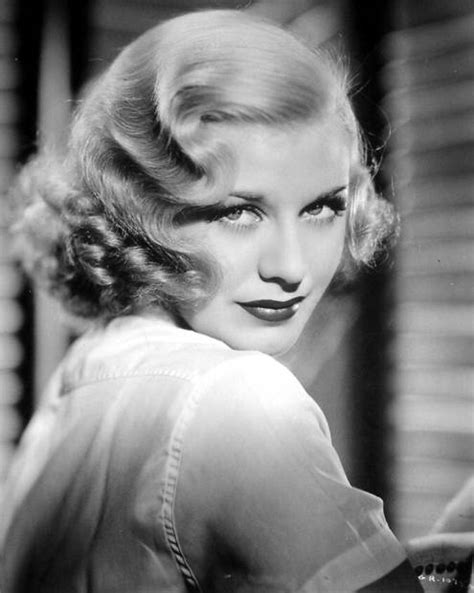 hair in the 1930s style file ginger rogers hair style matters