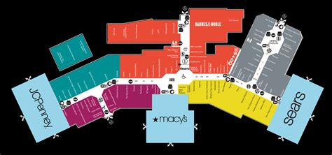 map mall of mall map of park mall a simon mall mishawaka in