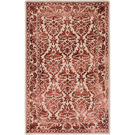burgundy area rugs 8 x 10 artistic weavers organic burgundy 8 ft x 10 ft indoor area rug awog2301 810 the home