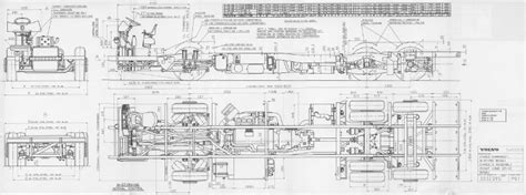 chassis drawings   volvo bm bus
