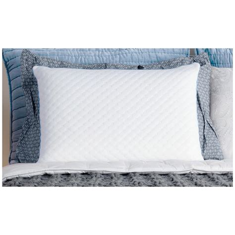 sealy memory foam bed pillow sealy 174 memory foam standard pillow 301191 pillows at