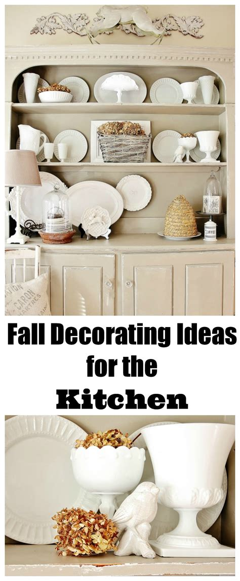 Fall Decorating Ideas For The Kitchen Fall Decorating Ideas For The Kitchen And A Story