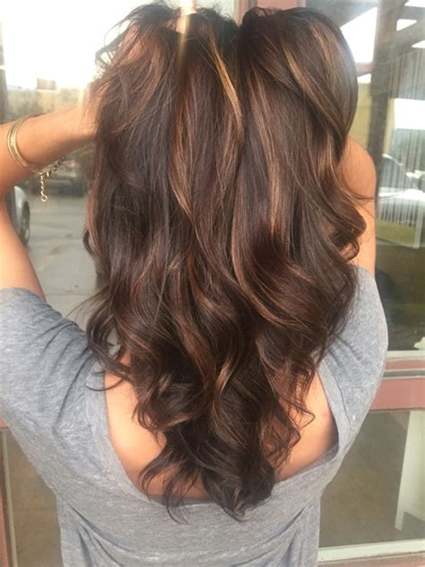 winter hair colors for brunettes 14 winter hair color trends to try this year