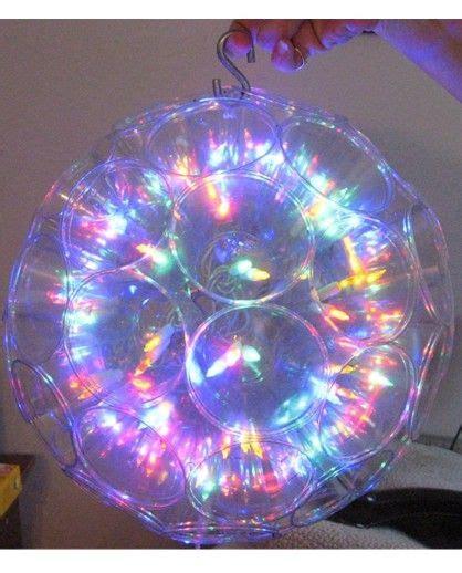 Homemade Light Ball Christmas Pinterest Light Up Balls On String
